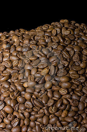 Fragrant coffee beans