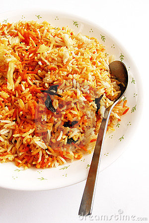 Free Fragrant Indian Rice Dish - Bryani Stock Images - 4858324