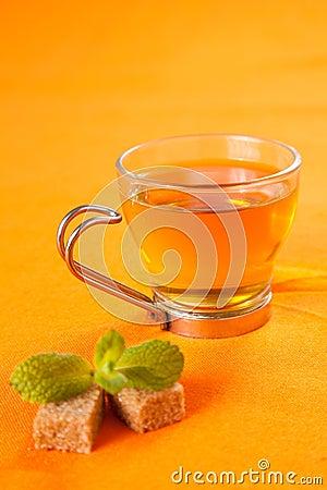 Fragrant mint teaA