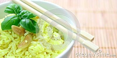 fragrant yellow rice
