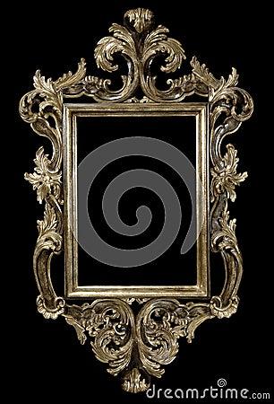 Frame on Black