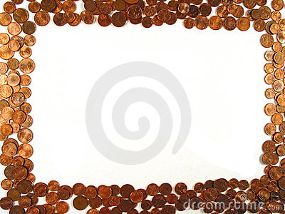 Frame of coins