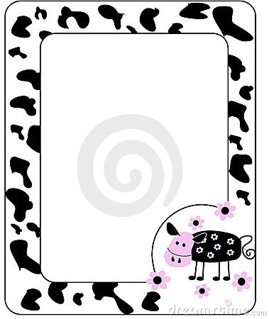 The frame is in cow style.