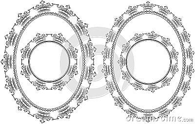 Frame crowns