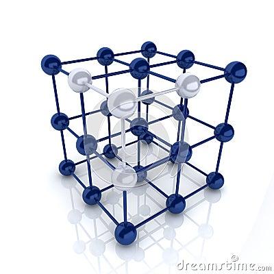 Frame cube