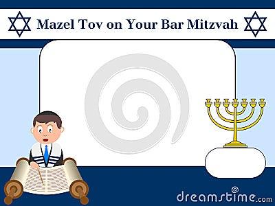 Frame da foto - barra Mitzvah