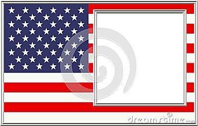 Frame de retrato patriótico