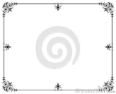 Frame decorativo