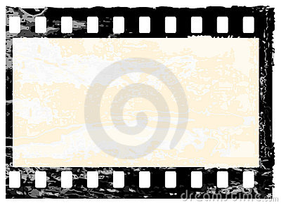 Frame do filmstrip de Grunge