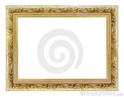 Frame dourado 2