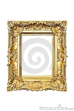 Frame dourado