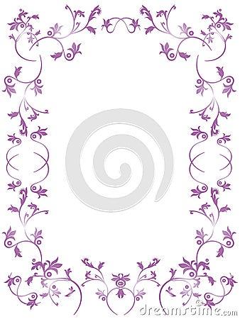 Frame floral