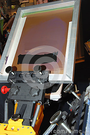 Free Frame For Screen Printing Stock Photography - 27337632