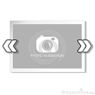 Free Frame For Website Slideshow, Presentation Or Series Of Projected Images, Photographic Slides Or Online Photo Album Layout Stock Photography - 77652742