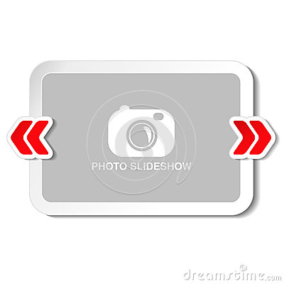 Free Frame For Website Slideshow, Presentation Or Series Of Projected Images, Photographic Slides Or Online Photo Album Layout Royalty Free Stock Photos - 77652818