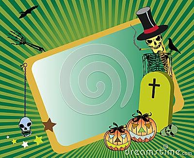 Frame for Halloween