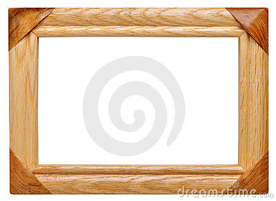 Frame made ​​of wood