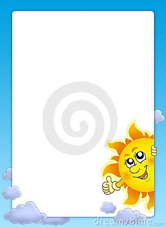 Frame met beeldverhaal dat Zon sluimert