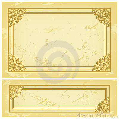 Free Frame Old Paper Royalty Free Stock Photography - 3247427