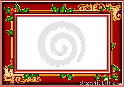 Frame photo christmas