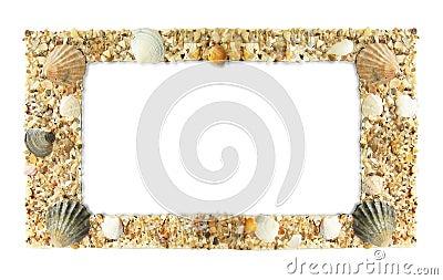 Frame photos of shells