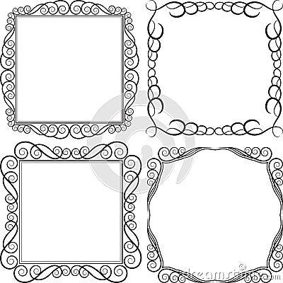 Frame quadrado