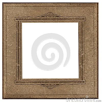 Frame quadrado antigo da foto