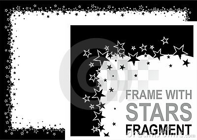Frame with stars