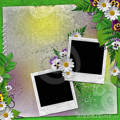 Frame for two photos