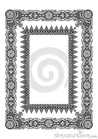 Frame vector