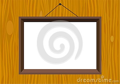 Frame on wall pattern
