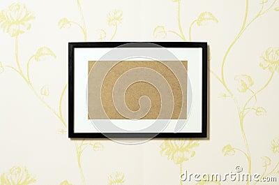 Frame on wallpaper 02