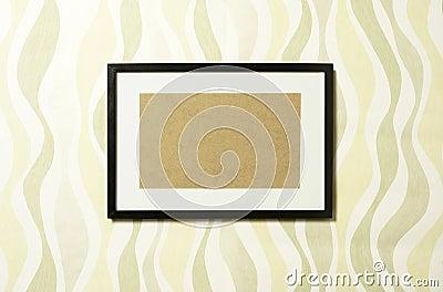 Frame on wallpaper 04