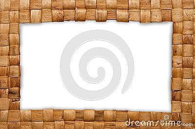 Frame of weave basket
