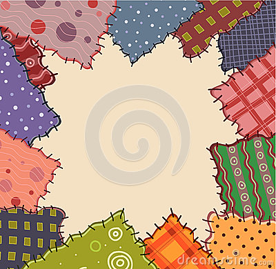 Free Frame With Bright Patches Stock Images - 26816144