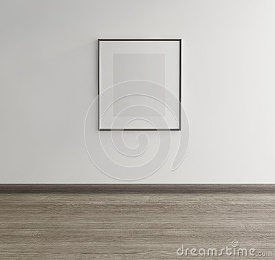 Free Framed Art On Wall Of An Art Gallery Stock Photo - 33051060