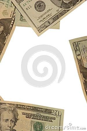 Framed in cash