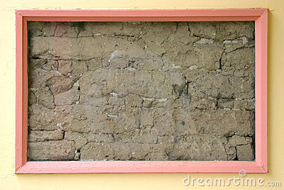 Framed Dirt Wall