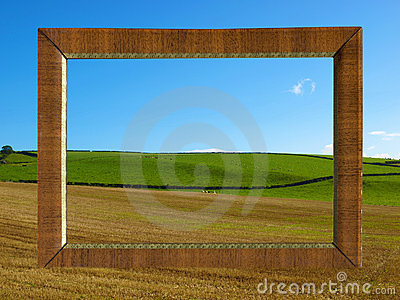 Framed hill