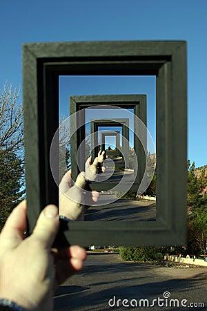 Free Framed Infinity Stock Photo - 57560