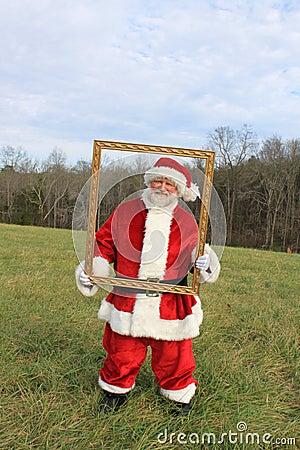 Framed Santa 2