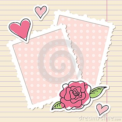 Free Frames And Rose Stock Photo - 26404590