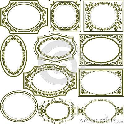 Frames decorativos