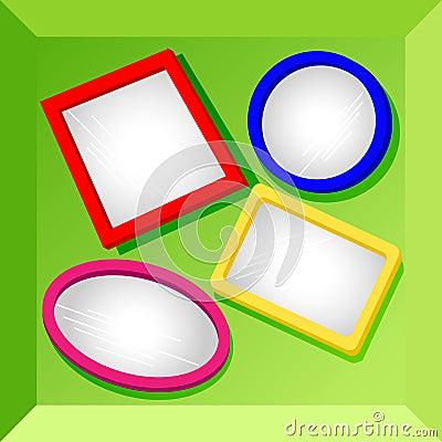 Frames or mirrors at bottom of a box-set2