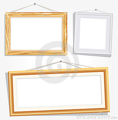 Frames with nails