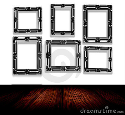 Free Frames On Wall Stock Images - 12735954