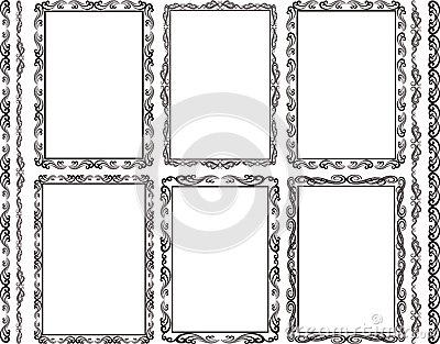 Frames rectangular
