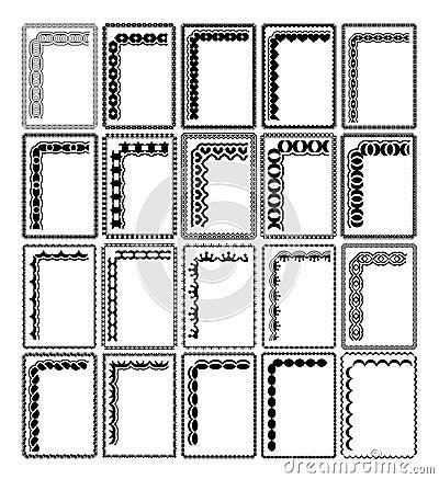Frames retangulares