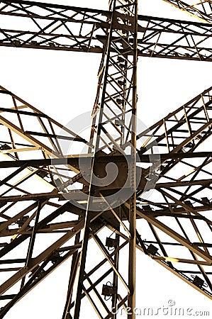 Framework architecture of Eiffel tower