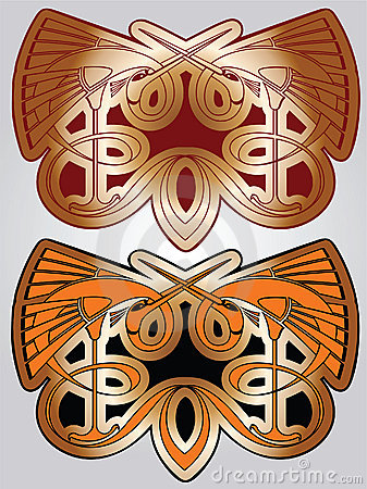 Free Framework Art-nouveau Stock Image - 11296381